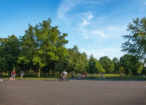 Park im. Jana Pawła II!