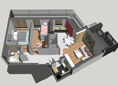 Mieszkanie 6m2!