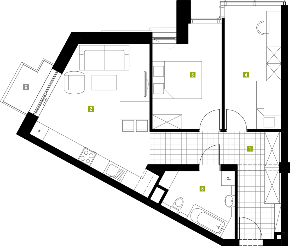 mieszkanie 3m10